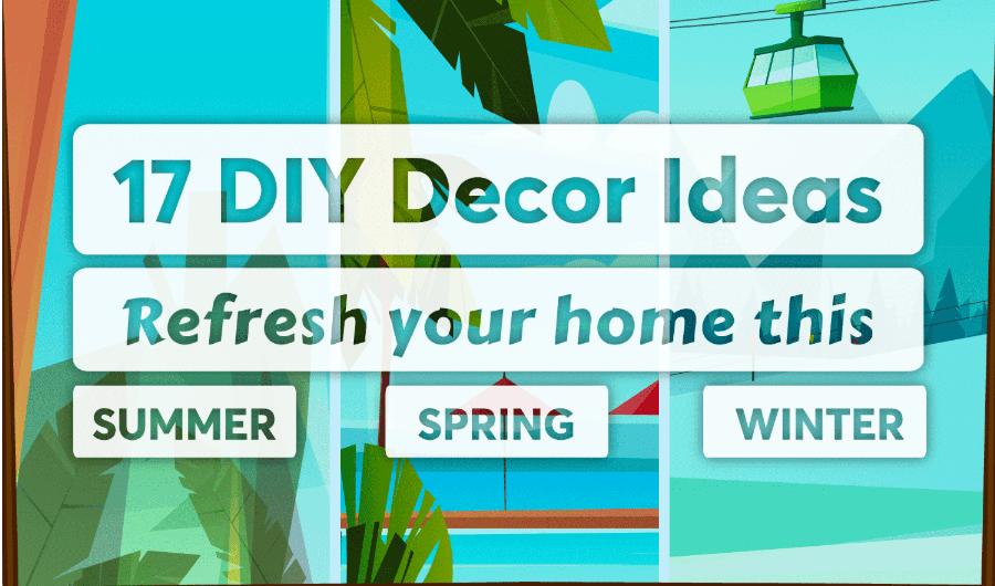 Diy Home Decor Infographic